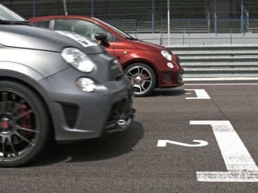 #videoproduction in #dijon #abarth #car #race #speed